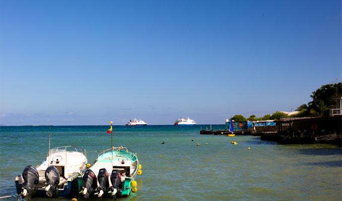 Puerto Ayora in Galapagos