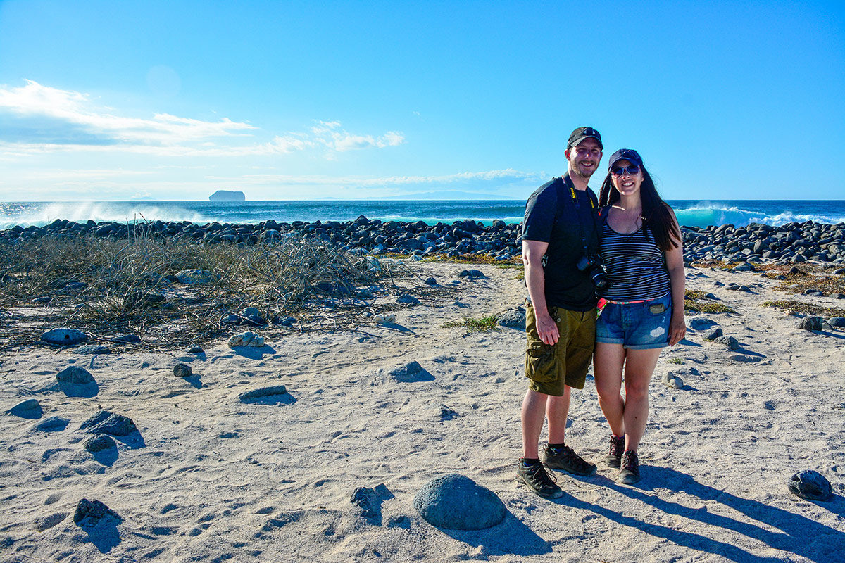 Couple in Española Island
