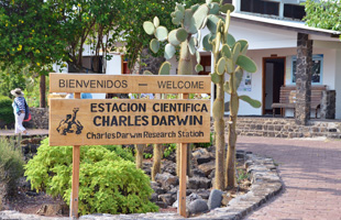 Charles Darwin Research Station in Galapagos