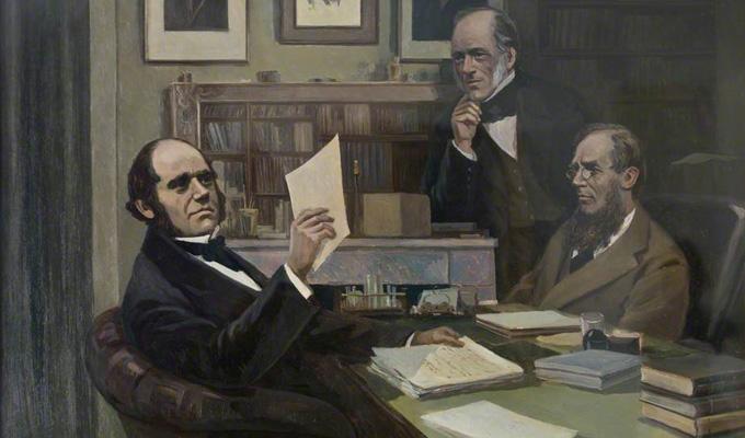 Darwin Hooker and Lyell