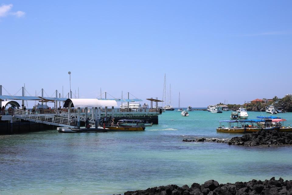 Puerto Ayora on Santa Cruz Island, Galapagos.
