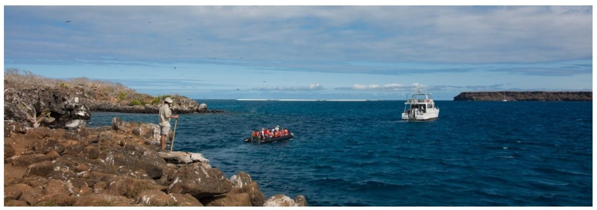 Daily yacht tours with Finch Bay Galapagos Hotel