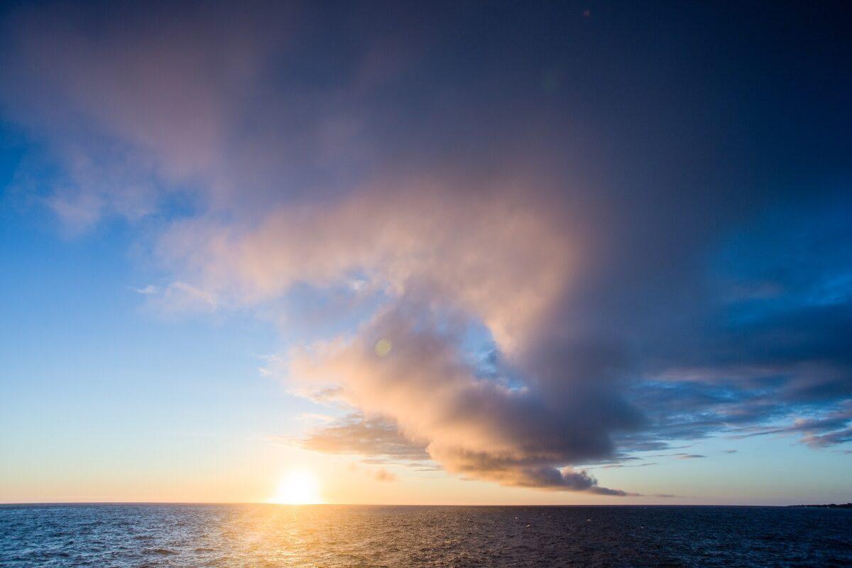 Sunset at Isabela Island