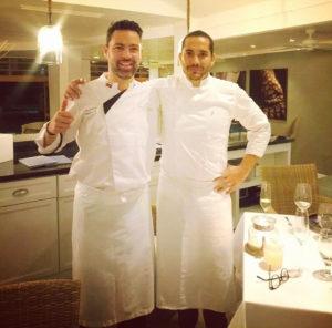 Chef Emilio Dalmau and Chef Rodrigo Pacheco