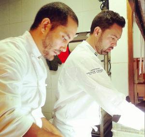 Chef Rodrigo Pacheco and Chef Emilio Dalmau