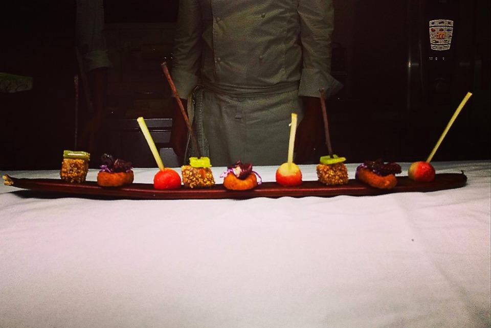 Dinner at Finch Bay Galapagos Hotel.