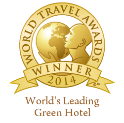 WTA - World's Leading Green Hotel 2014