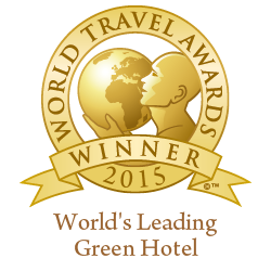 WTA - World's Leading Green Hotel 2015