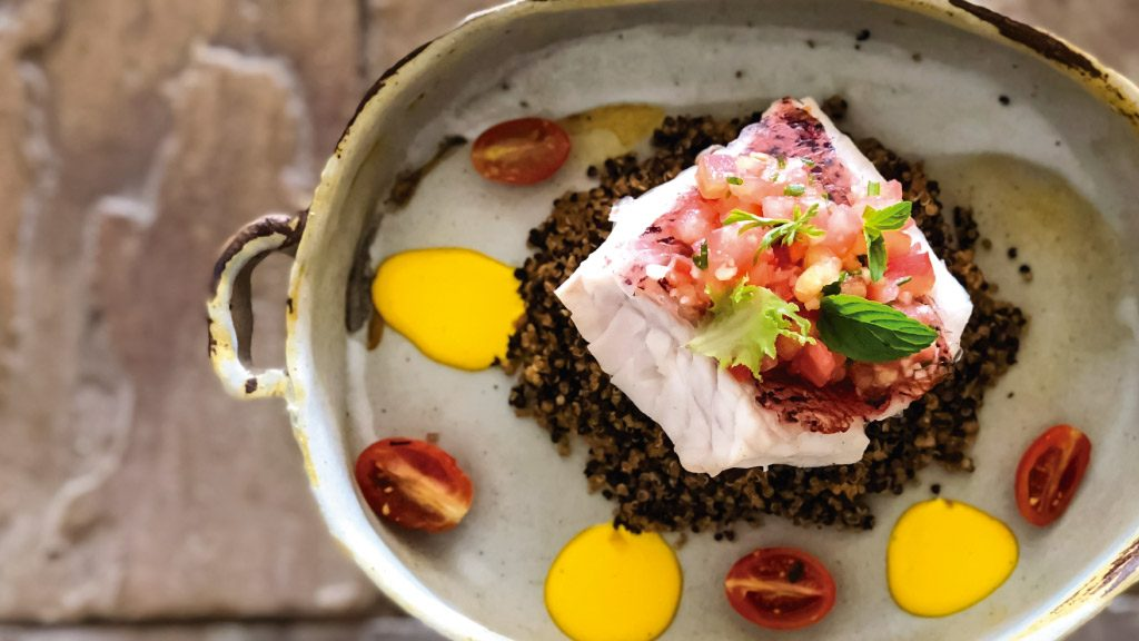 Finch Bay Galapagos Hotel's cuisine