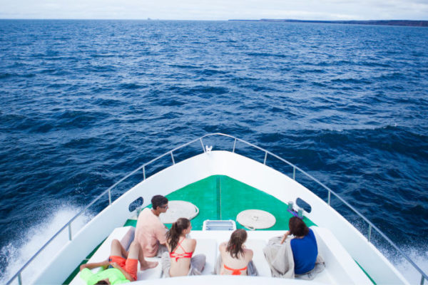 Finch Bay's Sea Lion Yacht in Galapagos