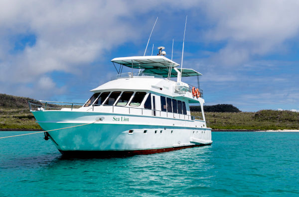Finch Bay's Sea Lion Yacht in the Galapagos Islands