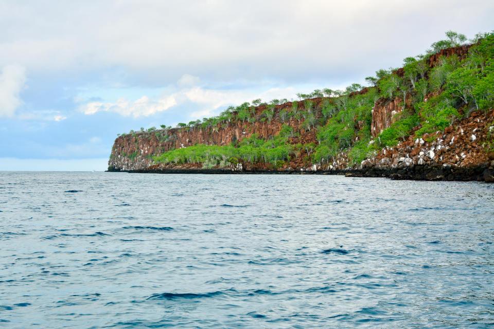 Punta Carrión en las Islas Galápagos