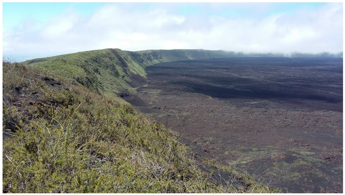 Volcan Chico explored through our Island 2 Island Program in Galapagos.