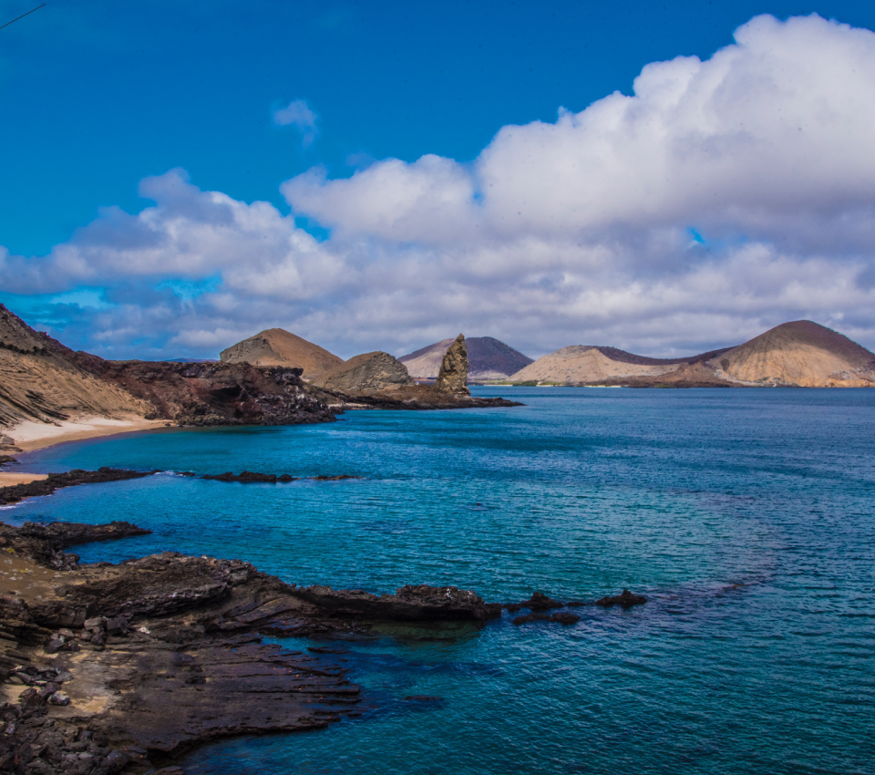 Bartolome Island in Galapagos