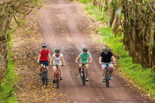 Biking is available at the Finch Bay Galapagos Hotel
