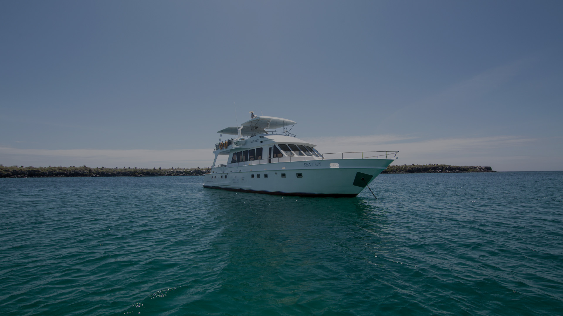 Sea Lion Yacht in the Galapagos Islands