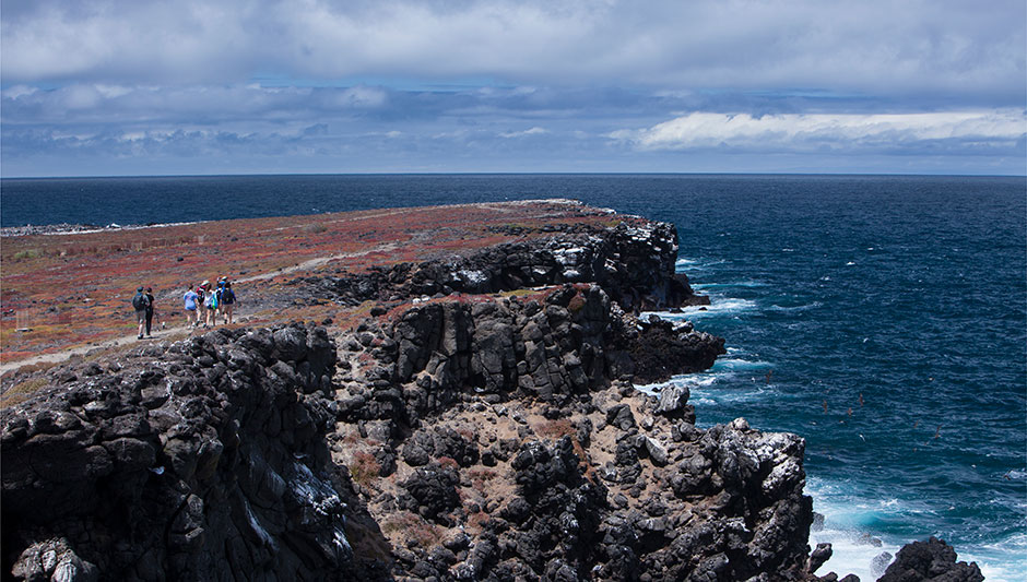 Hiking in Santa Cruz Island, Galapagos