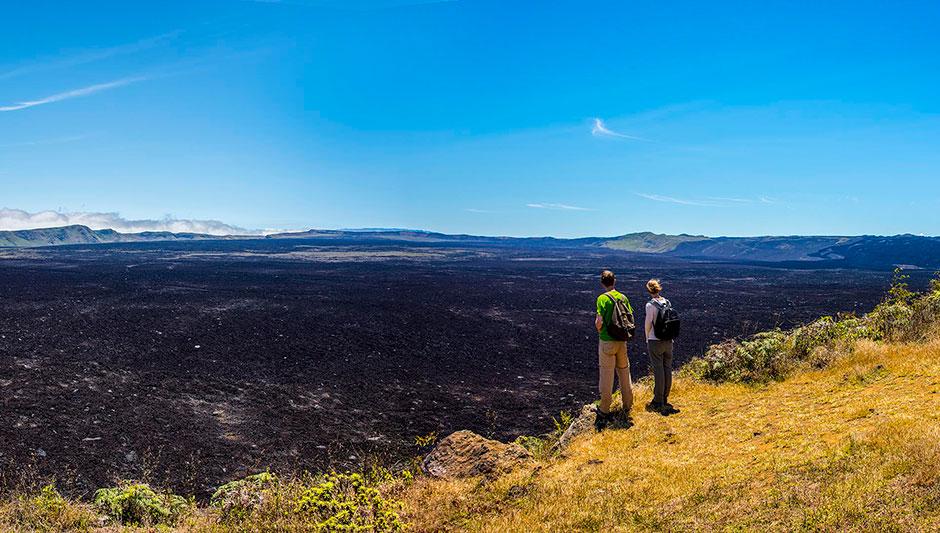 Explorando la Isla Isabela en Galapagos