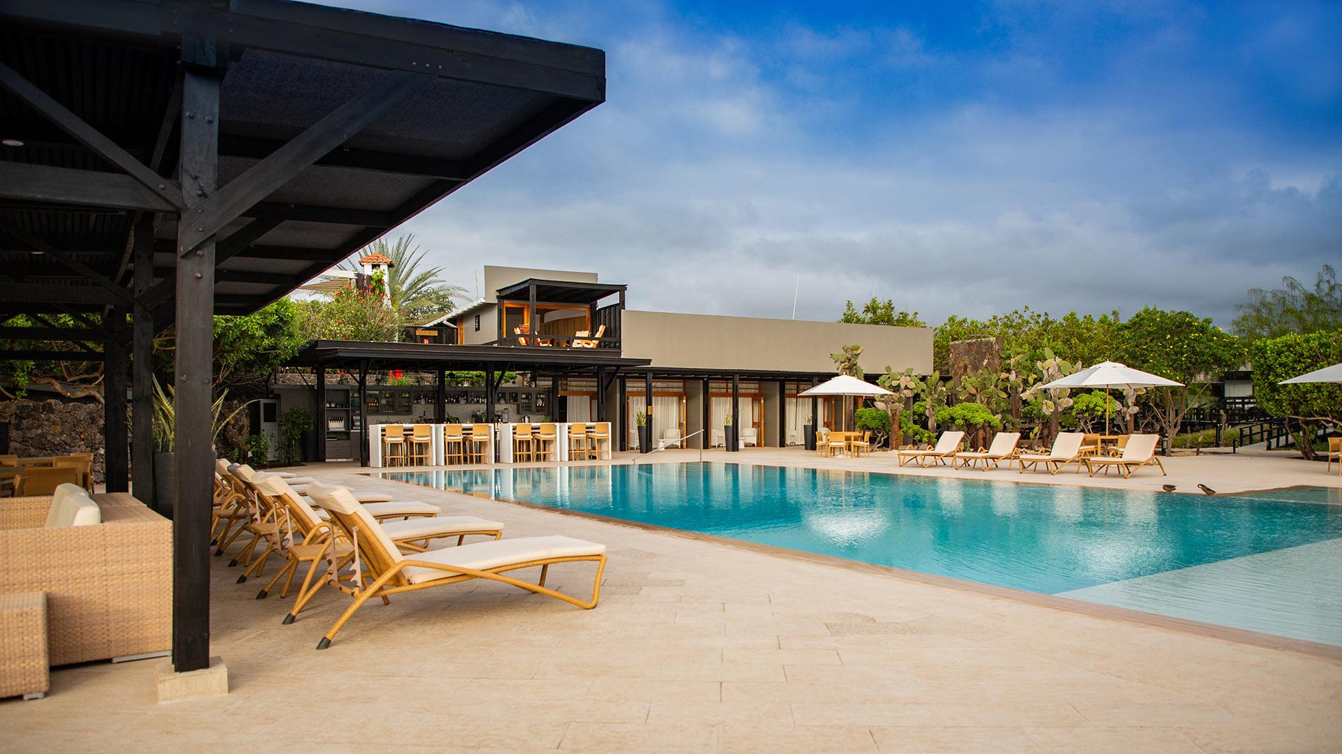 Finch Bay Galapagos Hotel, el único hotel con acceso a la playa