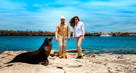 The best way to see Galapagos with the Finch Bay Galapagos Hotel