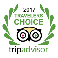 Trip Advisor Travellers Choice 2017