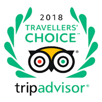 Trip Advisor Travellers Choice 2018