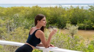 Disfruta de nuestra terraza con la mejor vista de las Islas Galápagos