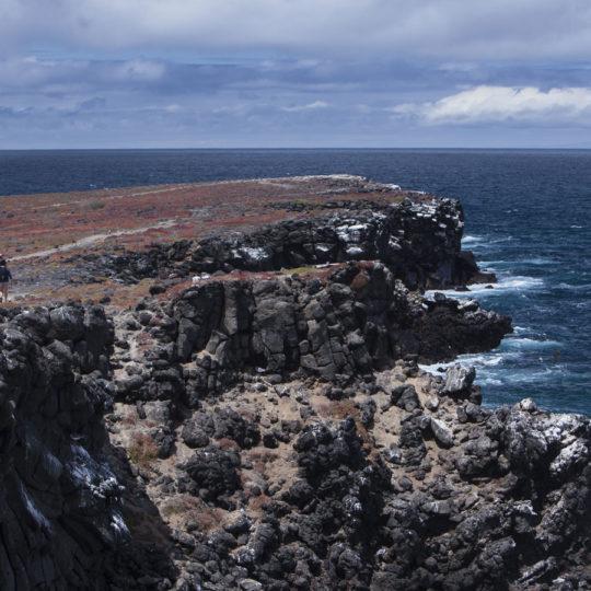 Exploring Santa Cruz island, Galapagos Islans