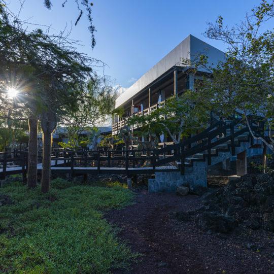 Atardecer en el Finch Bay Galápagos Hotel