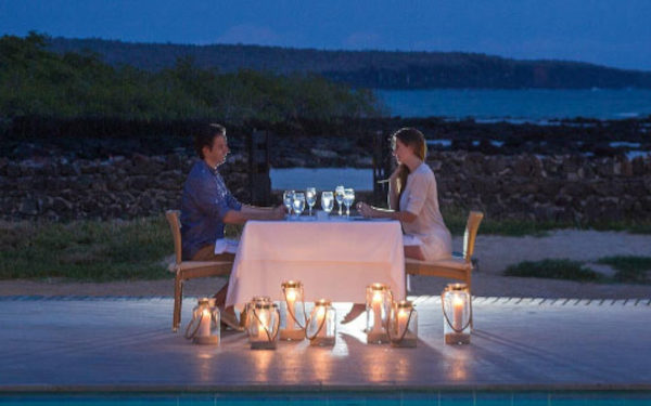 Romantic Dinner at the Finch Bay Restaurant