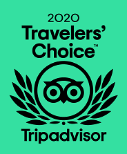 Finch Bay Hotel winner of TripAdvisor's Traveler's Choice Award 2020
